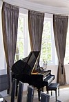 High quality curtain and blind installations. Wolverhampton, West Midlands, England, UK